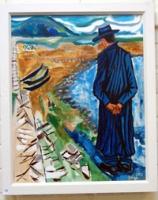 Figure on Dooagh Beach
