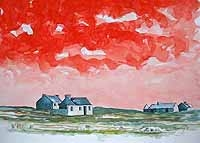 Red Sky II, Inis Airc