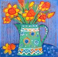 Jug with Daffodils