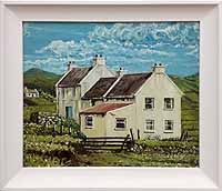 Fisherman's Cottages, Keel, Achill