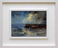 Stormy Skies, Spiddal Pier
