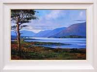 Evening on Lough Corrib near Glan