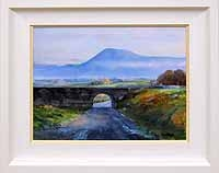 Croagh Patrick from Lecanvey pier