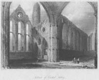 Interior of Cashel Abbey
