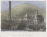 Round Tower & Glendalough (Co. Wick