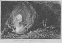 Cave, Giants Causeway,  Ireland