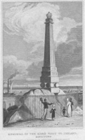 Memorial of the King's visit to Ire
