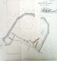 KINGSTOWN HARBOUR, plan of, in the