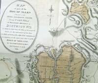 Map of part of The Bog of Allen sit