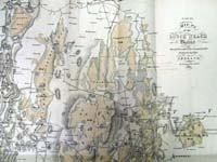 LONDONDERRY & ANTRIM -Map no.3 of t