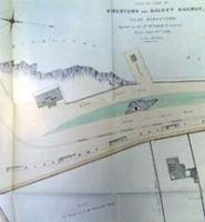 KINGSTOWN AND DALKEY RAILWAY, plan