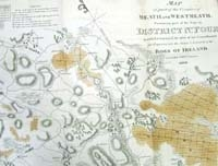 MEATH AND WESTMEATH, map of part of