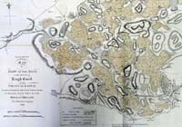 LOUGH CORRIB, map of part of the bo