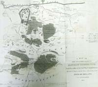 OFFALY / LAOIS. A map of the 1st &
