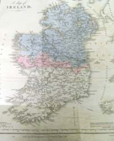 IRELAND, a map of, for the determin