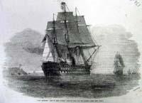 "H.M.S. War-ship ""The St. Jean D'Acr"