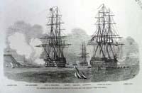 The Channel Fleet Entering Cork Har