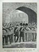 The execution in Dublin: Military p