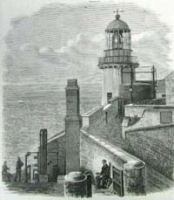 Use of gas lighthouses: The Wicklow