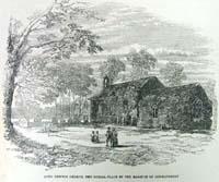 Long newton church, the burial-plac