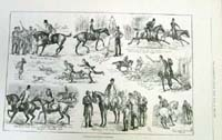 Hunting Sketches In Ireland
