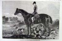 Fox hunting - Captain Percy William