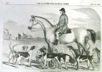 Mr. Smith and the brocklesby hounds