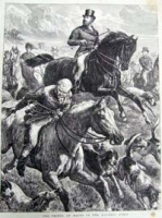 The Prince Of Wales In The Hunting