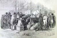 Emigrants Arrival At Cork