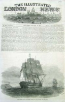 "H.M.S. War-ship ""The St. Jean D'Acr"