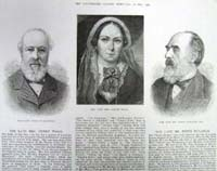 3 portraits of members of land leag