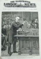 Gladstone explaining to the house o