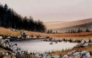 A Mountain Tarn - James Flack
