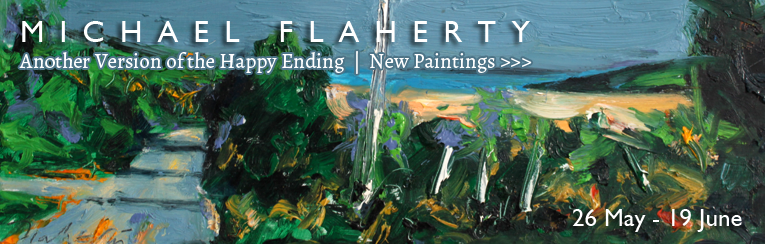 Michael Flaherty at the Kenny Gallery