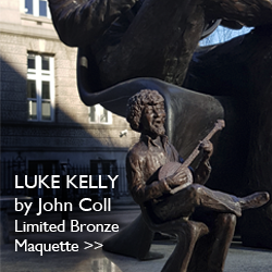 Luke Kelly, Limited Bronze Maquette