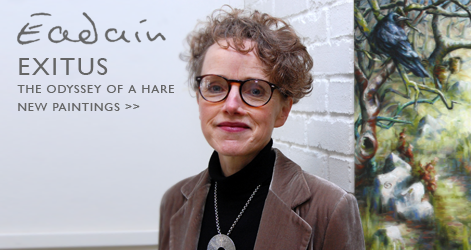 Éadaín - Exitus, The Odyssey of a Hare at The Kenny Gallery