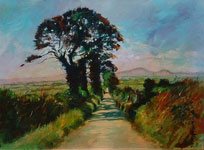 Hot Country Road by Anne Farrall