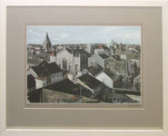 Rooftops & Backyards, Galway - Lim.Ed.Signed Print by Dean Kelly