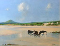 A Day at the Beach, Near Ballydavid by Paul Guilfoyle